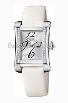 Oris miles Diamonds rectangulaire 561 7621 49 61 LS