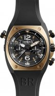 Bell e Ross BR02 Chronograph ouro rosa