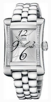 Oris miles Diamonds rectangulaire 561 7621 49 61 MB