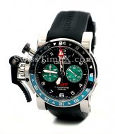 Graham Chronofighter Oversize 20VGS.B12A.K10B Grandes GMT Fecha
