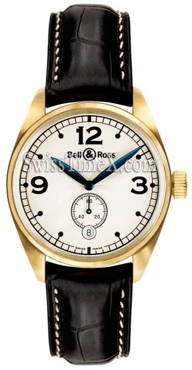 Bell and Ross Vintage 123 Gold Pearl
