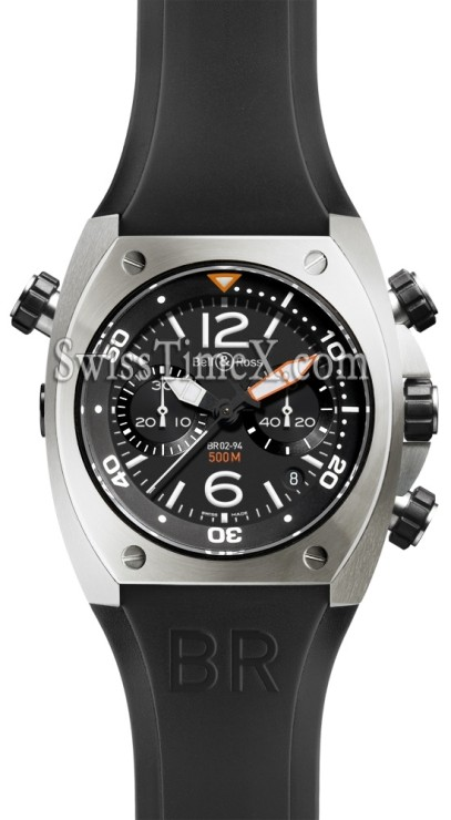Bell & Ross BR02 Chronograph Steel