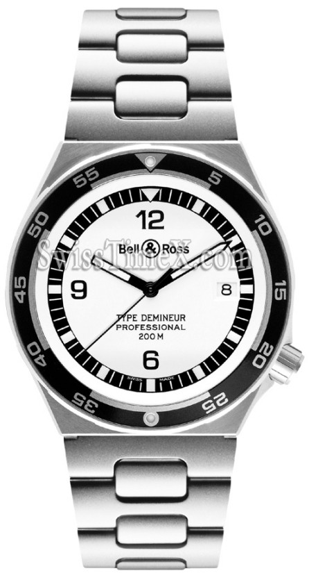 Bell et Ross Demineur Professional Type Collection Blanc