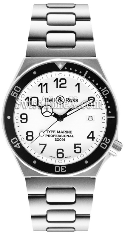 Bell et Ross type de collection Professional Blanc Marine