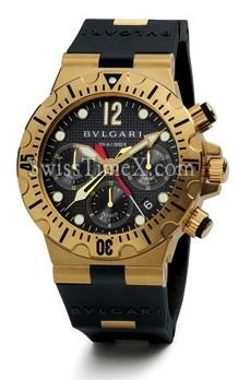 10e2a554c7c Vestido relógio   Bvlgari Diagono Professional SC40GVD  SC40GVD ...