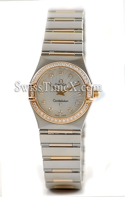 Mesdames Omega Constellation petites 111.25.26.60.55.001