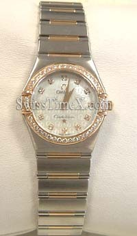 Mesdames Omega Constellation petites 1358.75.00
