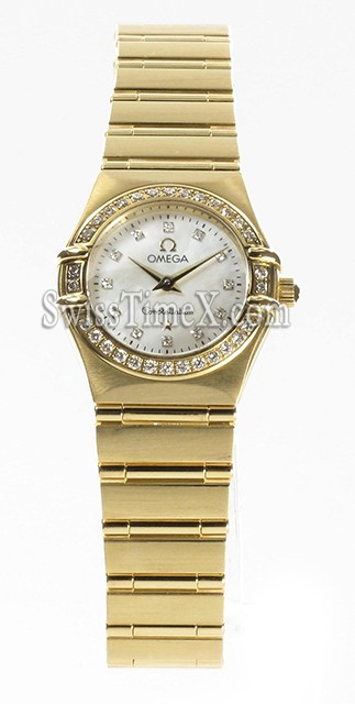 Omega Constellation Ladies Mini 1167.75.00
